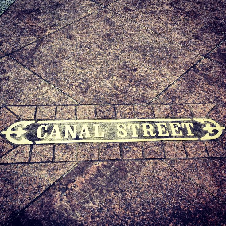 World famous Canal Street in downtown New Orleans!