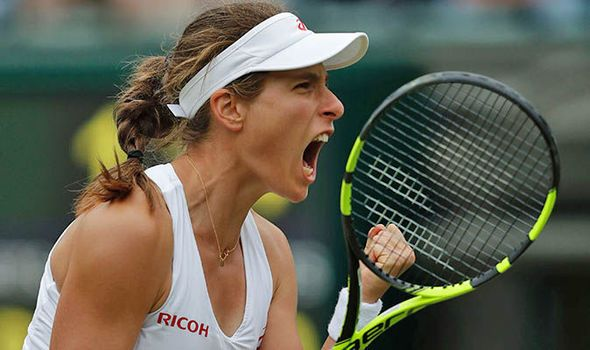 Johanna Konta through to second round after first Wimbledon win; may play…