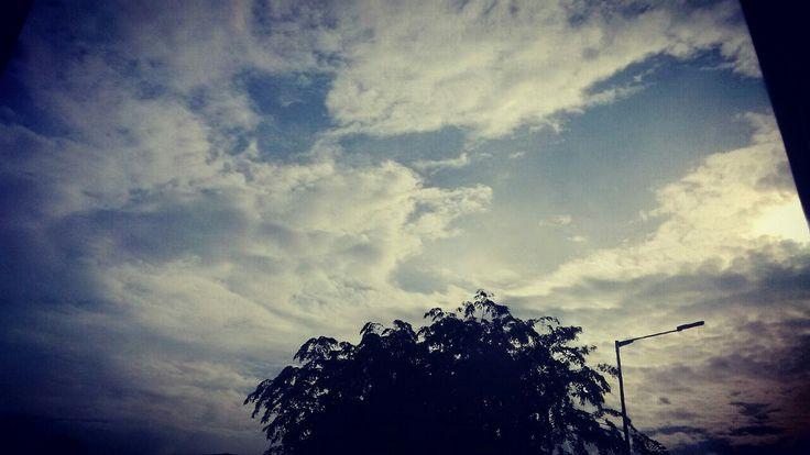 Pagi rasa senja di langit Pancoran #13okt2016