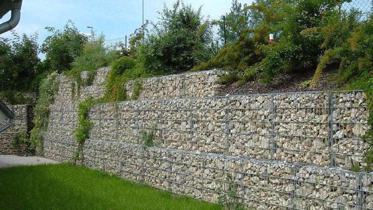 сварные габионы матрацы Рено георешетка геосетка Стилгрид ЗП-2 | Подпорные стены из габионов