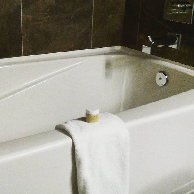 Time to relax... #saturday #weekend #longday #calgary #travel #bathroom #design #style #aveda