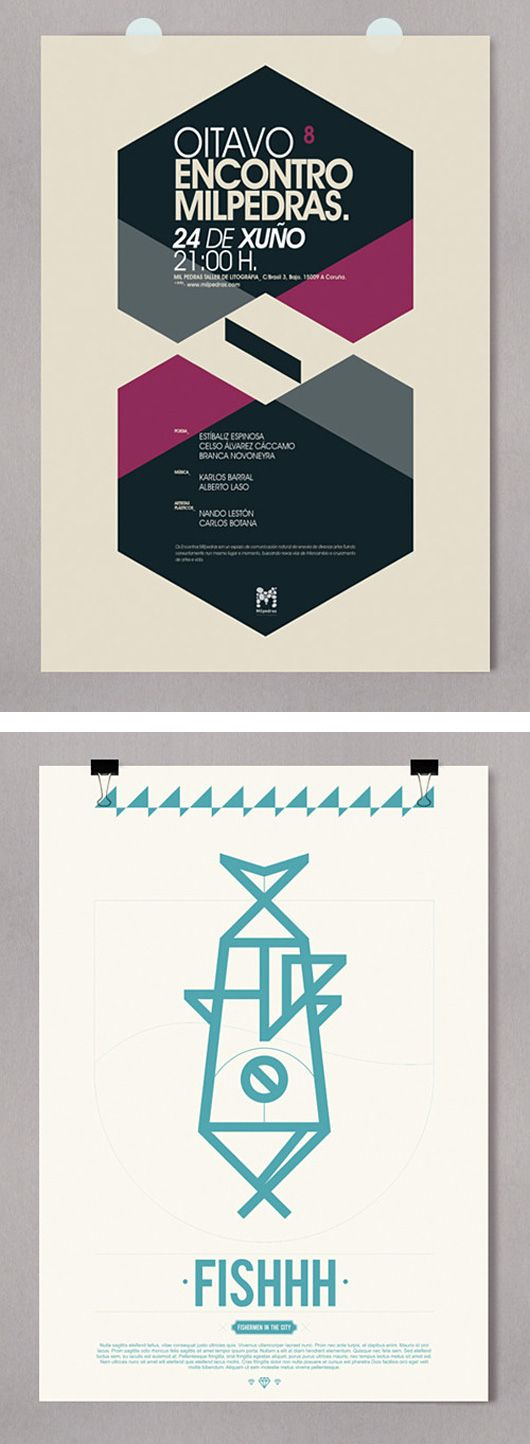 Awesome Posters by Alberto Carballido | Inspiration Grid | Design Inspiration