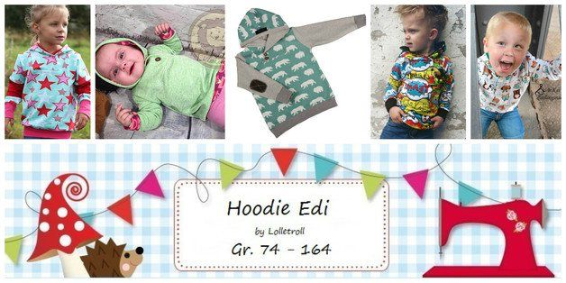 E Book Hoodie Edi Gr.74-164