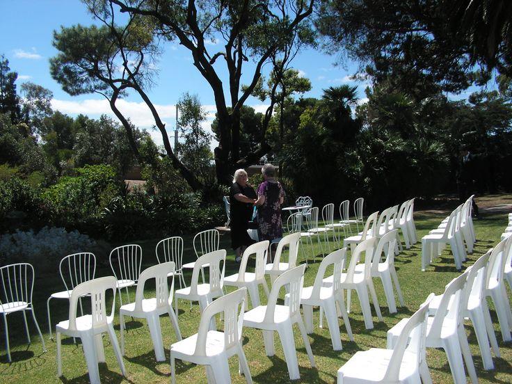 Stockade botanical park wedding invitations