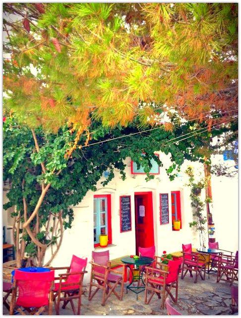 Art Symphony: Bright & Colorful Amorgos, Greece