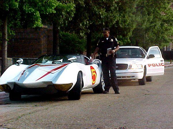 Gotham garages speed racer mach 5 replica