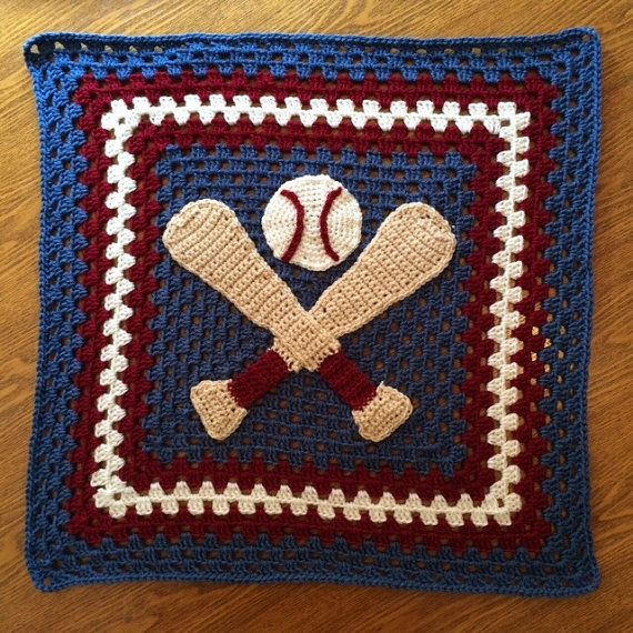 Perfect Baby Boy Sports Blanket Throw - Baseball Ball Game ...