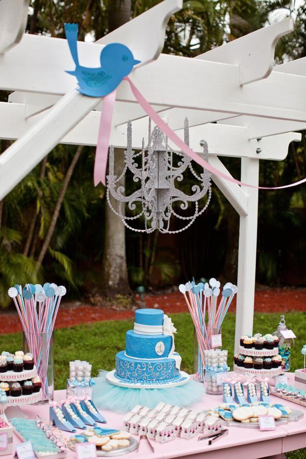 Cinderella Princess themed birthday party via Karas Party Ideas karaspartyideas.com #cinderella #princess #themed #party #disney #idea #cake #decor #ideas #shop #supplies (67)
