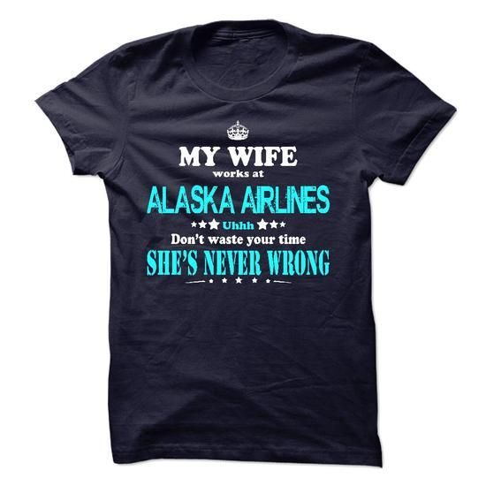 Only For Alaska Airlines Girls Husband - #fathers gift #grandma gift. MORE INFO => https://www.sunfrog.com/No-Category/Only-For-Alaska-Airlines-Girls-Husband.html?60505