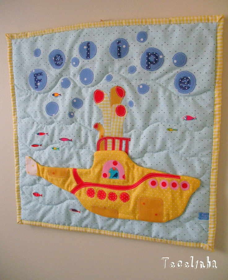 Yellow Submarine Quilt