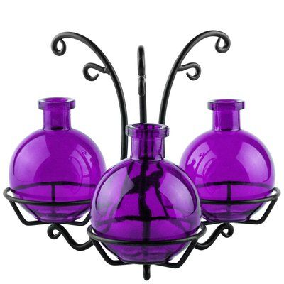 Couronne 3 Piece Table Vase | Recycled glass. Vase. Contemporary vases