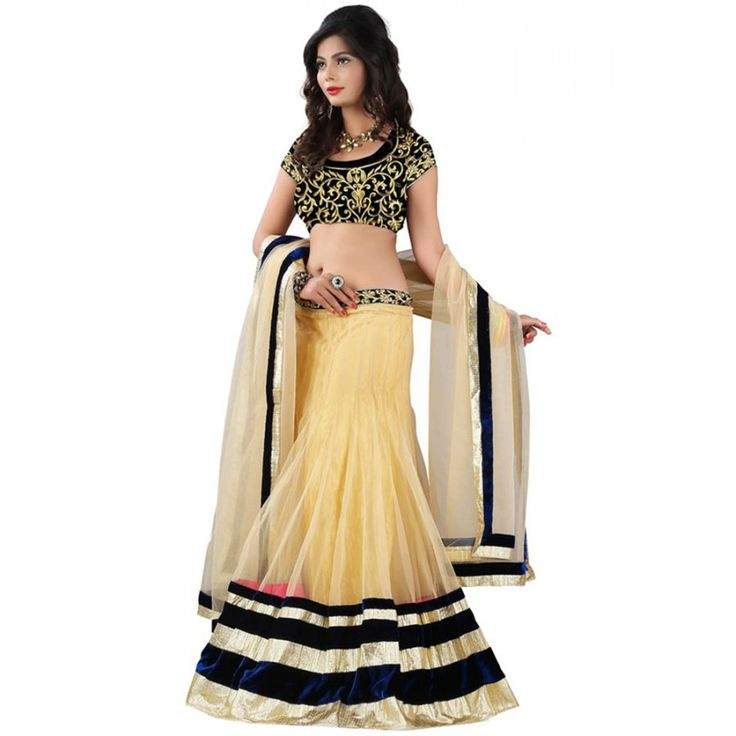 Spectacular Embroidery Party Wear & Festive wear Lehenga Choli at just Rs.720/- on www.vendorvilla.com. Cash on Delivery, Easy Returns, Lowest Price.