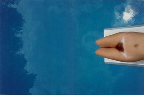 Franco Fontana, piscine, 1984.