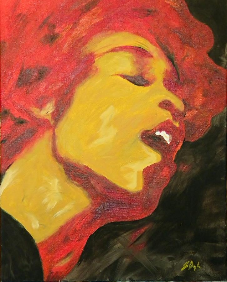 Electric Ladyland | Fine art, Fine art america, Artist