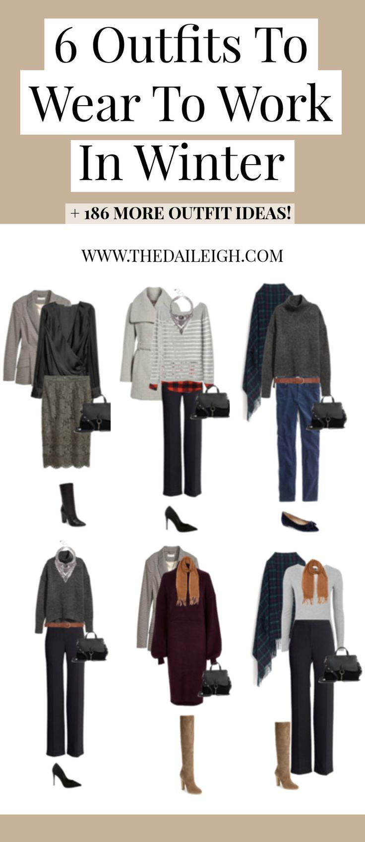 Winter Outfits For Work | Winter Outfits | Work Outfit Ideas | How To Dress | Fashion Tips for Women