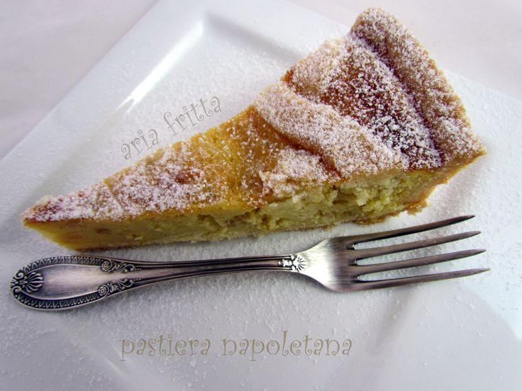 pastiera napoletana - tradizione a Pasqua   ARIA FRITTA