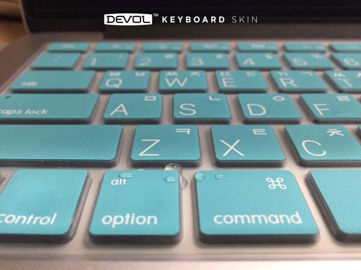 DEVOL MacBook keyboard skin