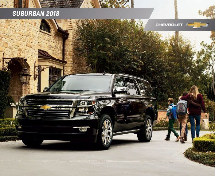 Downloadable 2018 Chevy Suburban Brochure Chevrolet Suburban