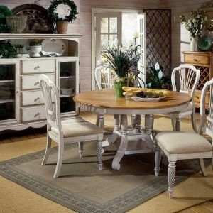 Dining Room Table Antique White