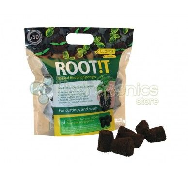 ROOTIT 50 Sponge Bag. This is the perfect cutting and germination product.  Refill ROOT!T Natural Rooting Sponges for your trays.