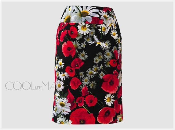 Cotoon Skirt  Dolce & Gabbana Fabric     Made To by COOLorMANIA