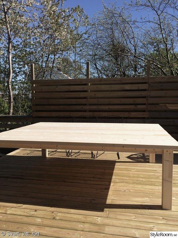 Bord,utemöbel,snickra ihop ett bord,rektangulärt bord,altan ...