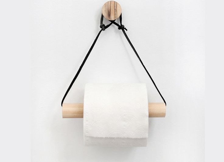 DIY: toiletpapier houder