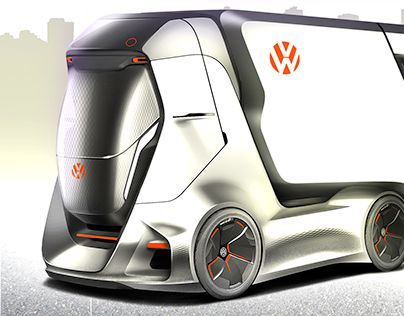 Volkswagen I.D. Truck on Behance