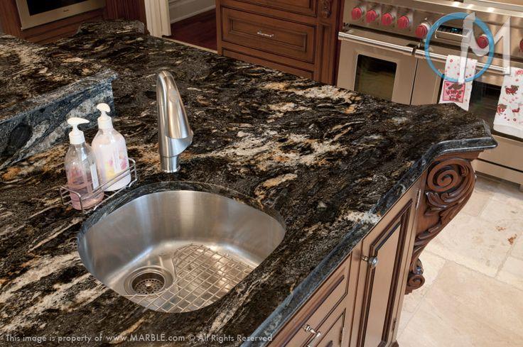 Cosmic Black Granite : Cosmic black granite kitchen bathroom