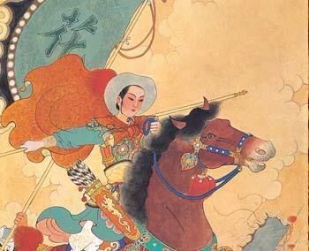 The warrior heroine . The little known story of Chinese heroine Hua Mulan who takes her ageing father's place in defending China against invading Mongolian and nomadic tribes . Han Dynasty .