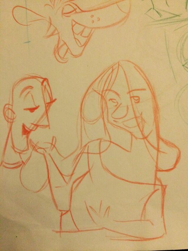 animasyon öncesi hazırlıklar