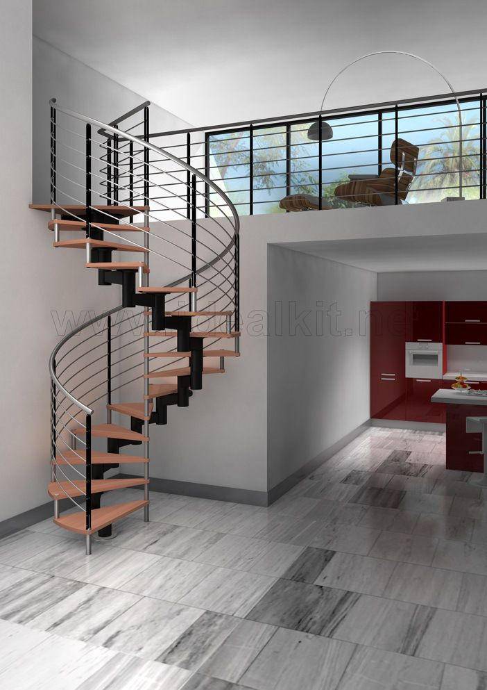 166 best images about ideas para el hogar on pinterest for Escalera interior casa