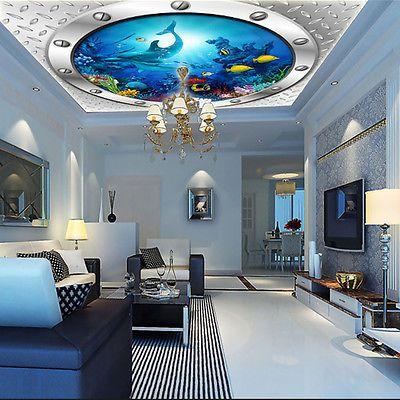 details zu 3d sch ne decke 18 fototapeten wandbild. Black Bedroom Furniture Sets. Home Design Ideas