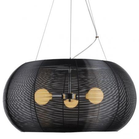 Black Wire Cage Santana Light Modern Lighting Cougar