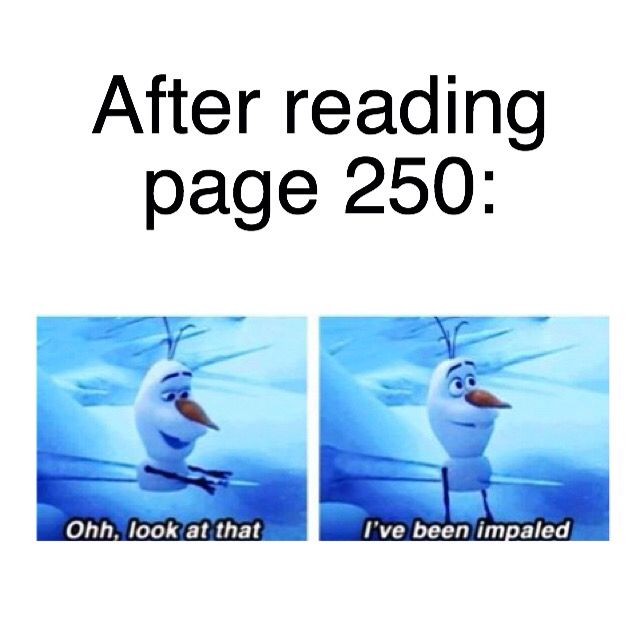 Page 250 - The Maze Runner - The Scorch Trials - The Death Cure - Newt - Thomas - Teresa - Gally - Alby - Chuck- Brenda - Minho - Ben - Sonya - Aris - James Dashner - Olaf