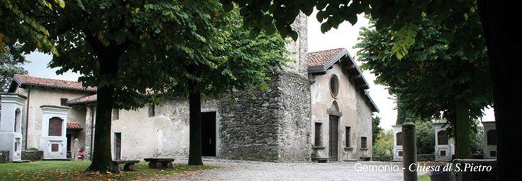 A Gemonio, alla scoperta della bellissima chiesa romanica di San Pietro e dei suoi stupenti affreschi. Le mie foto http://www.itcvarese.it/