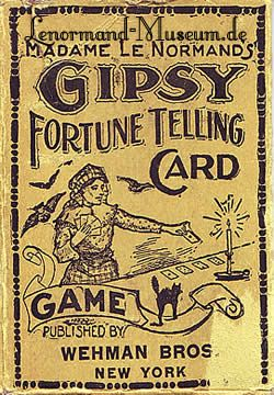 Fortune telling Cards.  When Tarot and Fortune telling cards began to be sold in stores by people who manufactured games.  These cards could only be sold if Game was in the title.