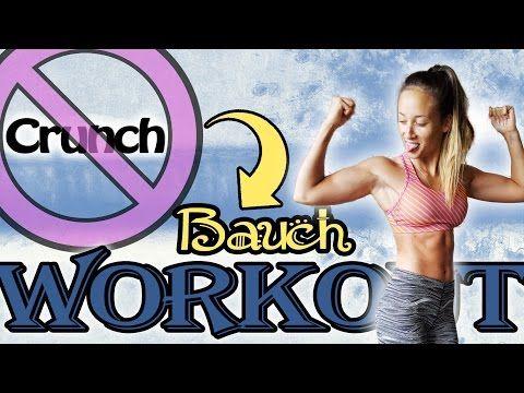 Bauchfett verbrennen ohne Crunches - Sixpack Workout für zuhause - EFFEKTIVE Übungen - YouTube