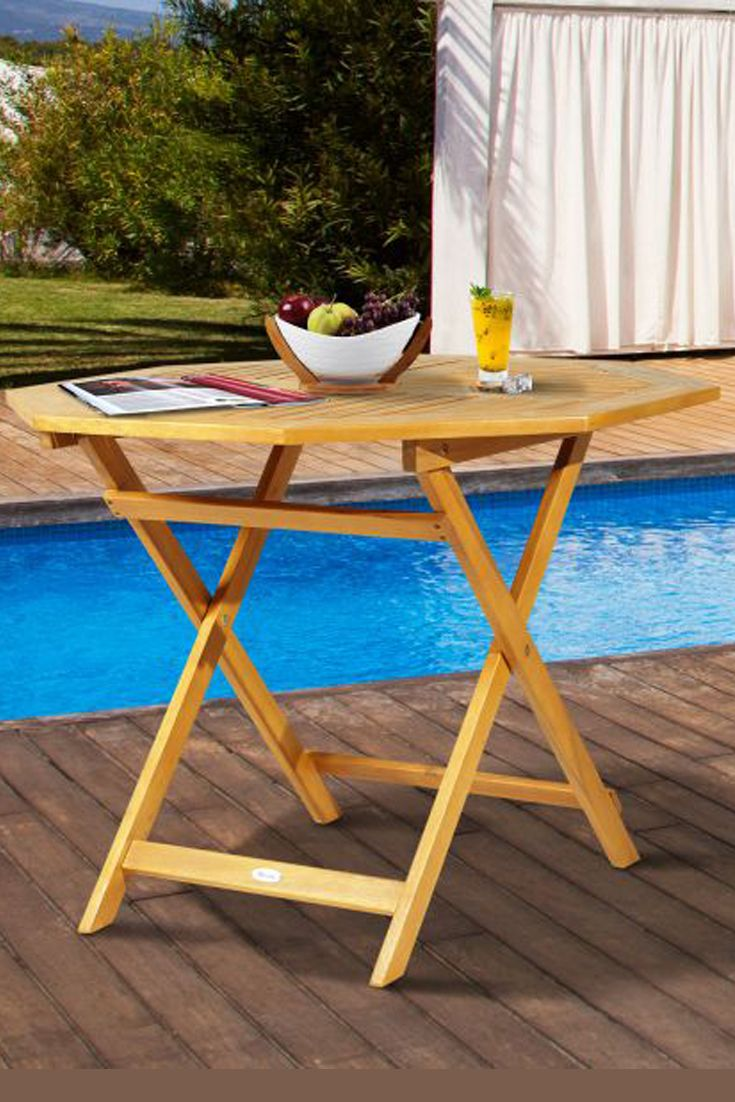 Create A Simple Yet Inviting Dining Space On Any Deck Or Patio With This Charming Outdoor Bistro Table Constructed Bistro Table