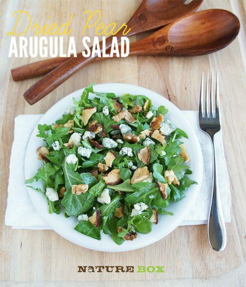 Dried Pear Arugula Salad   Fatty McFatterson   Pinterest