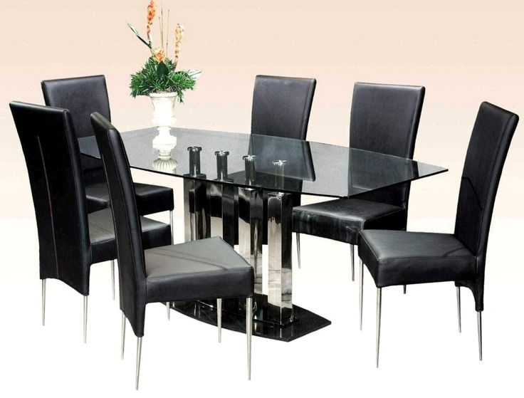 Glass Dining Table Set Archives Kitchen Furniture And with regard to Dining Table Set