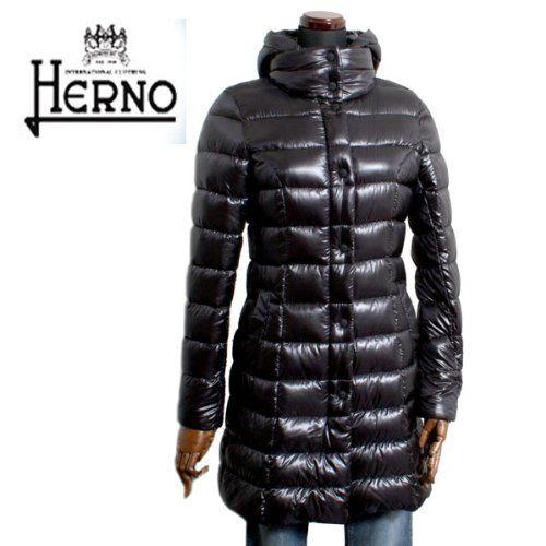Amazon.co.jp: (ヘルノ) HERNO レディース ロング ダウンコート P10045D-12017 [並行輸入品]: 服&ファッション小物通販