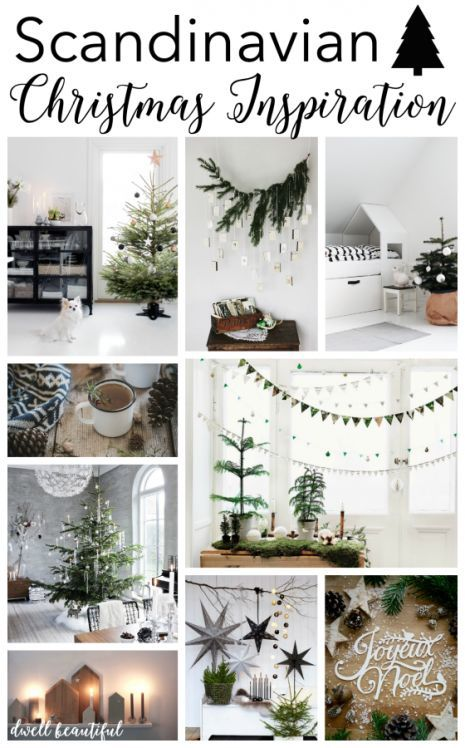 Scandinavian Christmas Inspiration - check out these beautiful home decor idea and styles for all the rooms of your home and get tips and tricks on how to get the Scandi design look in your very own home!
