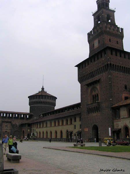 Visita al Castillo Sforzesco de Milán.
