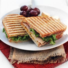 Turkey, Apple, & Bacon Panini - You don't need a panini maker to make my new favorite fall sandwich!