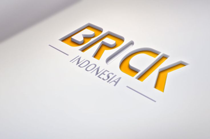 Brick Indonesia. General contractor and heavy equipment company. Designed at 2012.