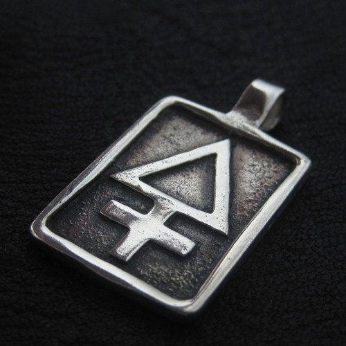 Silver Sulphur pendant