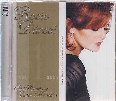 CD - Rocio Durcal NEW Su Historia Y Sus Exitos Musicales 2 CD - FAST SHIPPING !