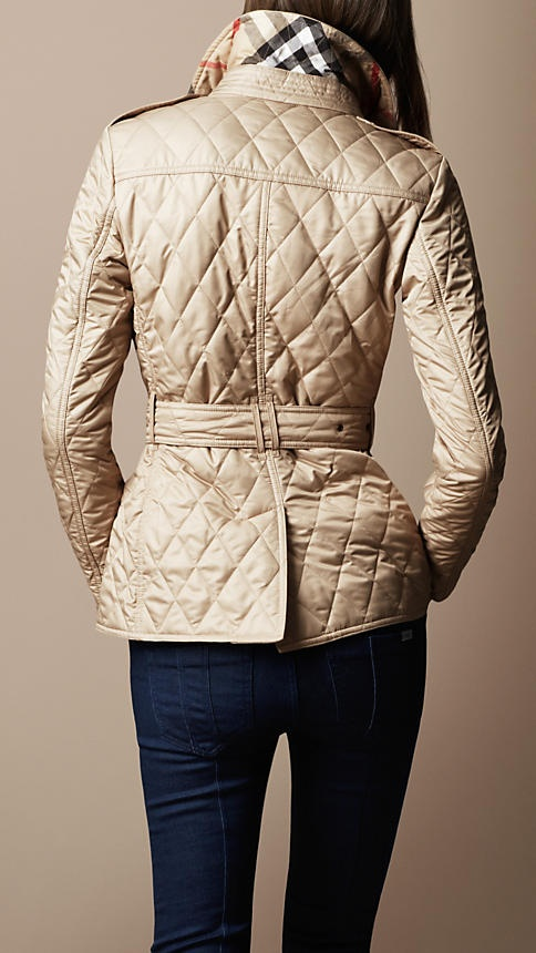 Burberry - DIAMOND QUILTED JACKET