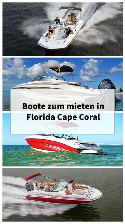 022f22234af91 Riesen Auswahl an Boote zum mieten in Florida Cape Coral für Ihren perfekten  Bootsausflug ☀️